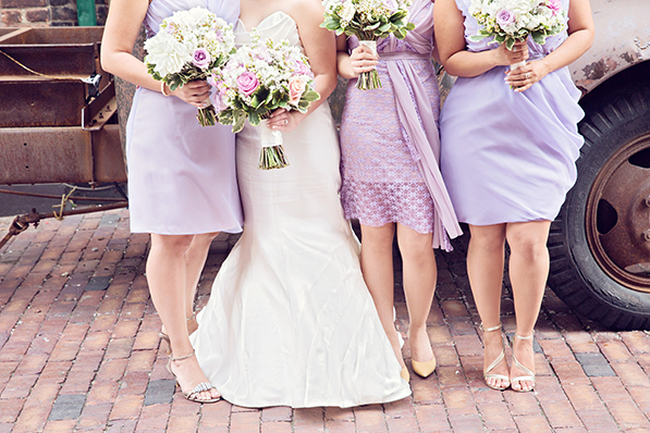 Anne and Ty- Bridesmaids Dresses